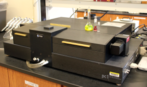 An ISS PC-1 spectrofluorimeter in T-configuration